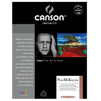 Canson Infinity Printmaking Rag A3+ 310g / 25 feuilles