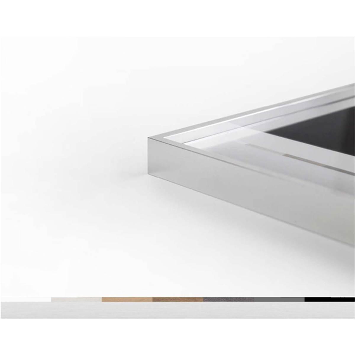 nielsen cadre alpha ch ne blanc 50x60 prophot. Black Bedroom Furniture Sets. Home Design Ideas