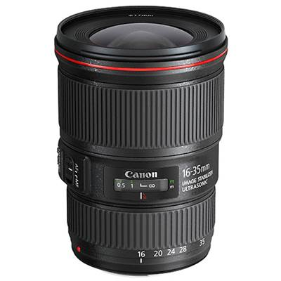 Canon Objectif EF 16-35mm f/4L IS USM