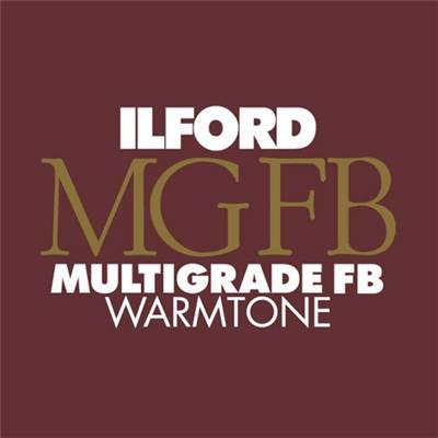 Ilford Papier FB Warmtone brillant 17,8x24 CM 100F