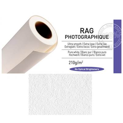 "Canson Infinity Rag Photographique Rouleau 44"" 210g / 15 m"