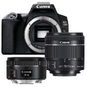 Canon Kit EOS 250D +Objectifs 18-55mm f/4-5.6 IS STM - 50mm f/1.8 STM