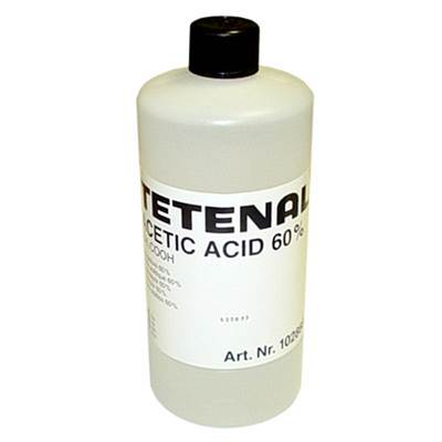 Tetenal Acide acetique 1L à 60%