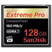 Sandisk carte Compact Flash Extreme Pro (160MO/S) 128GO