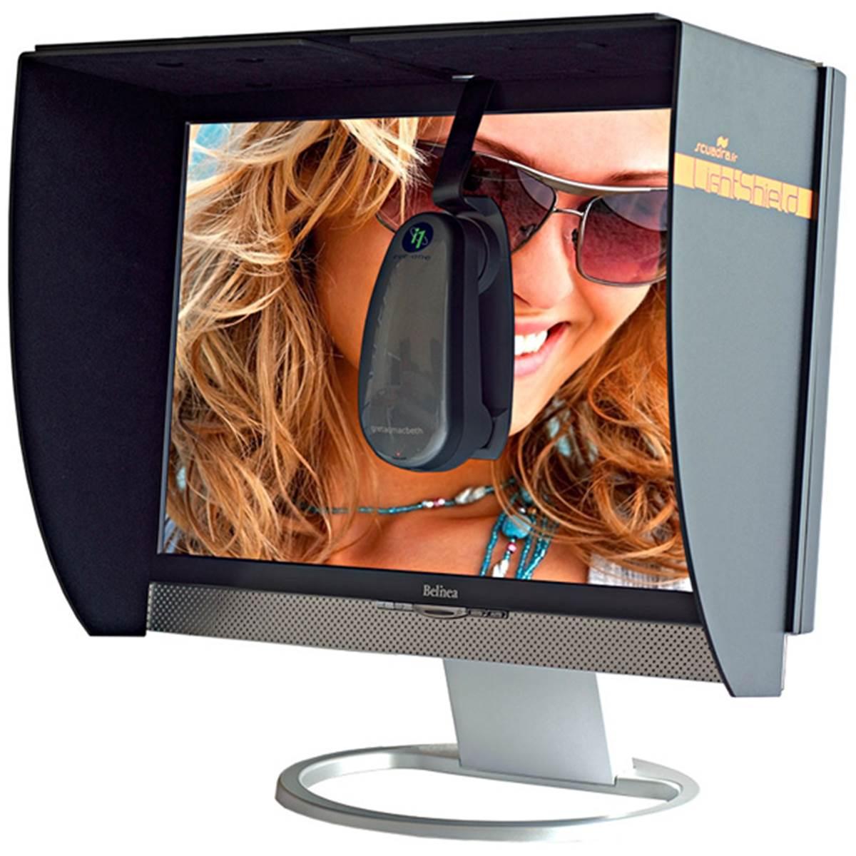 Scuadra casquette lightshield pour ecran 20 24 v2 prophot for Ecran pour photographe pro