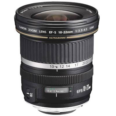 Canon Objectif EF-S 10-22mm f/3,5-4,5 USM