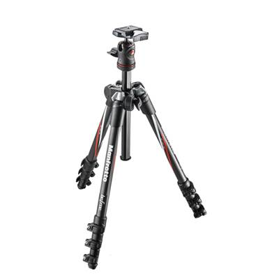 Manfrotto Trépied Befree en Carbone + Rotule & sac