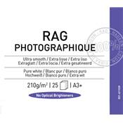 Canson Infinity Rag Photographique A3+ 210g / 25 feuilles