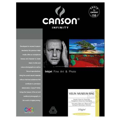 Canson Infinity Velin Museum Rag A2 315g / 25 feuilles