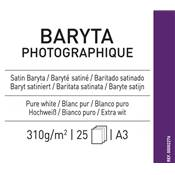 Canson Infinity Baryta Photographique A3 310g / 25 feuilles