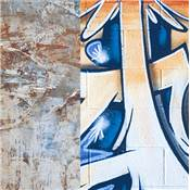 Lastolite Fond pliable 1.5M x 2.1M  Urban Distressed Paper / Graffiti