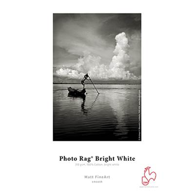"Hahnemühle Photorag Bright White 310g  Rlx 24"" 12m"
