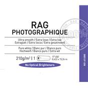 "Canson Infinity Rag Photographique Rouleau 17"" 210g / 15 m"