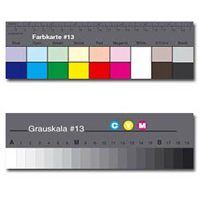 Charte Color Séparation Guide Q-13 (18cm)