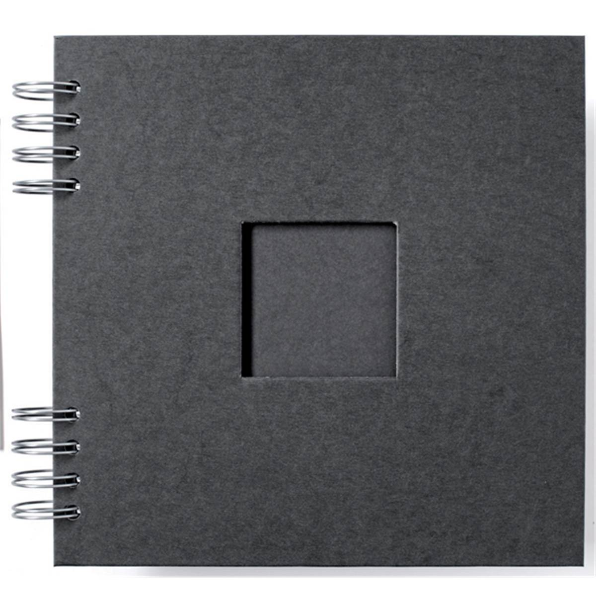 prat album photo marmara noir 27x27 30 feuillets prophot. Black Bedroom Furniture Sets. Home Design Ideas