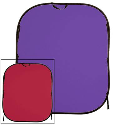 Lastolite Fond pliable 1.8M x 2.15M Red / Purple