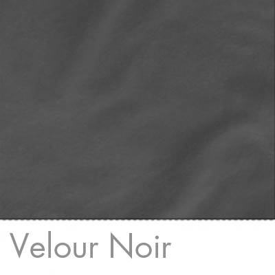 Colorama Fond Velours Noir 1,32m X 7,30 m