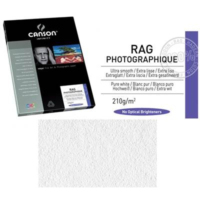 Canson Infinity Rag Photographique A2 210g / 25 feuilles