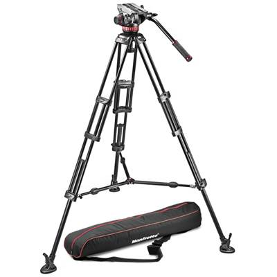 Manfrotto Kit Trépied 546B et Rotule 502A + sac