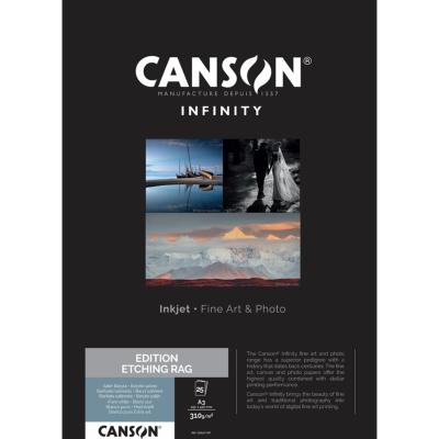 Canson Infinity Edition Etching Rag A3 310g / 25 feuilles